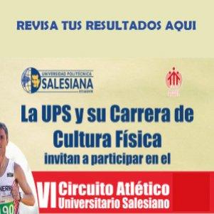 Ganadores Circuito Atlético Universitario Salesiano